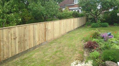 secure garden fencing