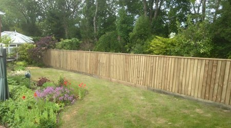 full range of home fencing
