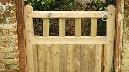 hand built gates