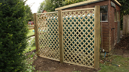 supply and install trellis
